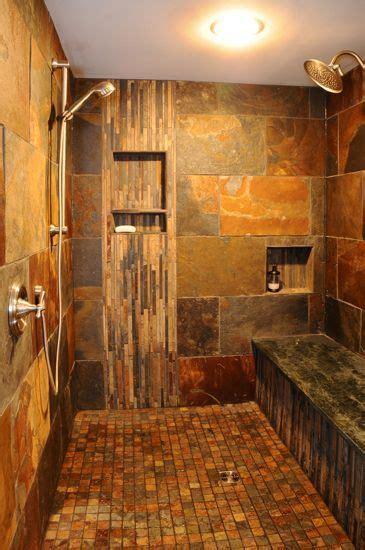 bathroom slate tile ideas 29 best slate images on bathrooms master bathroom and master bathrooms