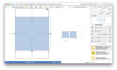 auto layout half height ios auto layout square image view with equal width