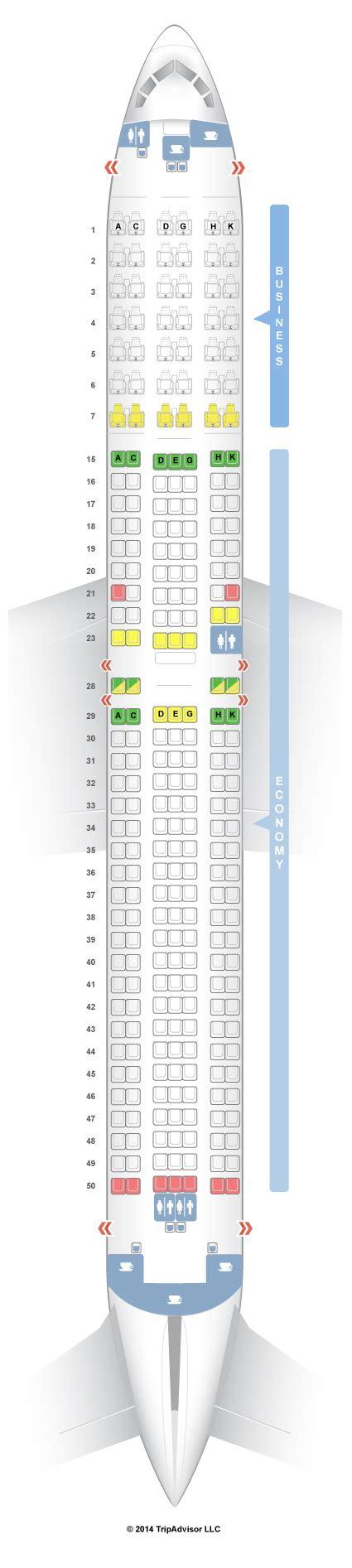 76w aircraft seating seatguru seat map japan airlines boeing 767 300er 76w v3