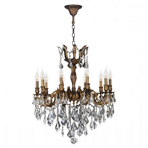 versailles chandelier w83340b26 versailles 10 light antique bronze finish and