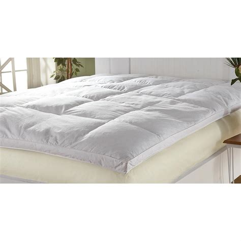 Feather Bed by 4 Quot Quilted Baffle Box Feather Bed 178997 Mattress