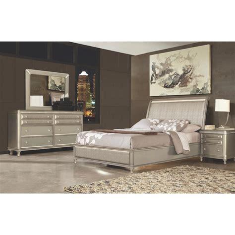 riversedge furniture bedroom groups  piece glam queen bedroom collection