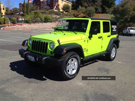 Jeep Sport 4 Door 2012 Jeep Wrangler Unlimited Sport Sport Utility 4 Door