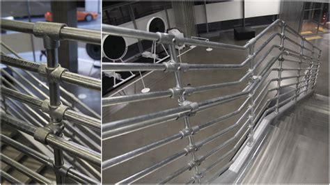 Pipe Railing Pipe Interior Design Hyundai Showroom In S Korea