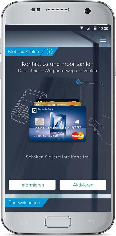 deustche bank banking ein jahr mobile payment der deutschen bank einfacher