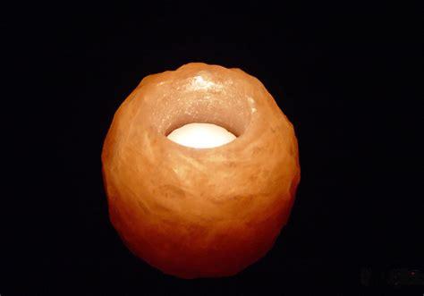 salt l candle holder 16x hand carved pink salt candle holders himalayan crystal