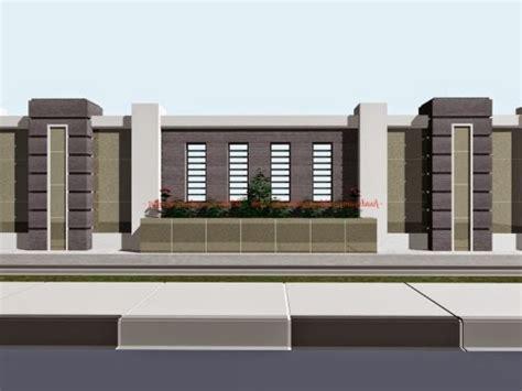 kumpulan contoh pagar rumah minimalis modern terbaik