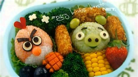cara membuat nasi kuning ala bento net12 cara membuat bekal kreatif bento dan dekorasi buah