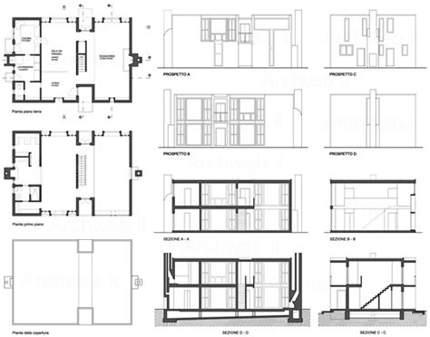 esherick house section esherick house 2d louis kahn esherick plan