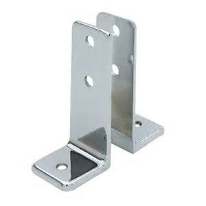 sted stainless steel quot l quot bracket 0132 wall brackets
