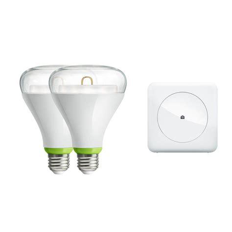 wink hub 2 lights ge link 65w equivalent br30 connected home led light