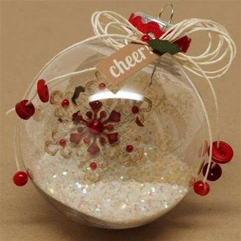 christmas ornament love the transparent ornaments with