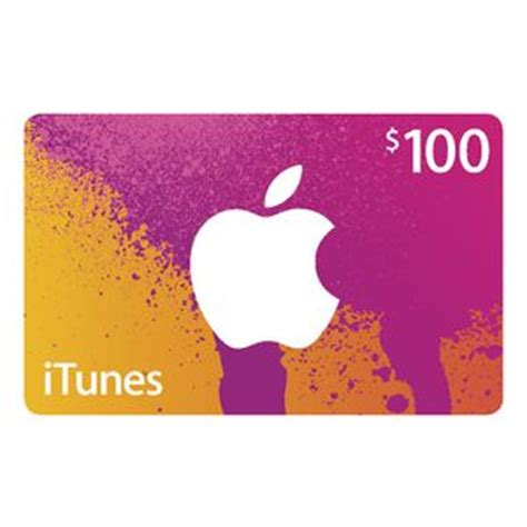Trade Apple Store Gift Card For Itunes - apple itunes card 100 officeworks
