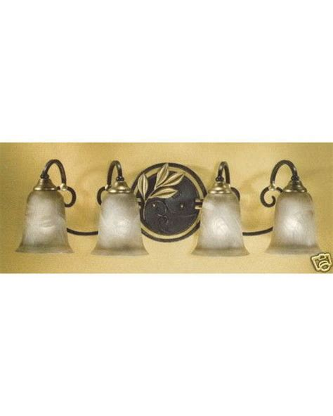 Discount Vanity Lights by Stylicon By Lighting Ac2212 Aib Four Light Vanity Bath Wall Mount In Aged Iron Finish