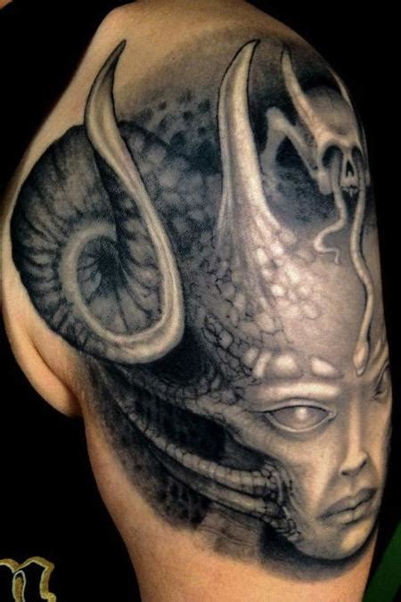hr giger tattoo designs hr giger ripperized by clod the ripper tattoonow