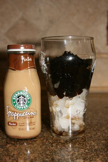 Latte Jelly Drink my version of starbucks coffee jelly nye noona