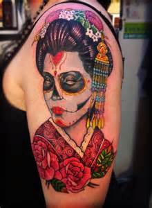 day of dead tattoo rose memes
