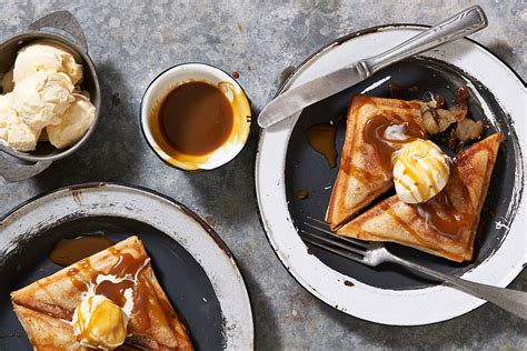 apple pie jaffle recipe recipe  homes  gardens
