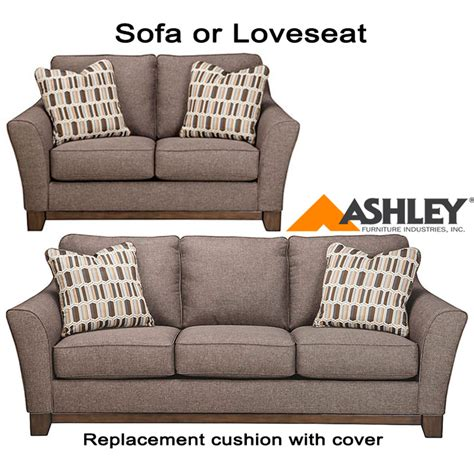 ashley furniture couch covers ashley 174 janley replacement cushion cover 4380438 sofa or