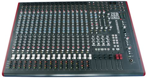 Mixer Allen Heath Zed R16 multitrack mixer interfaces