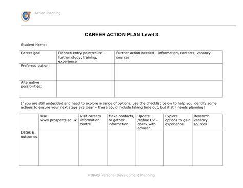 personal development action plan template rent receipt