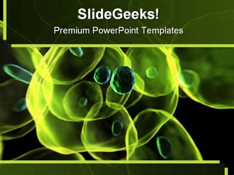 Cells Science Powerpoint Template 0810 Powerpoint Science Themes