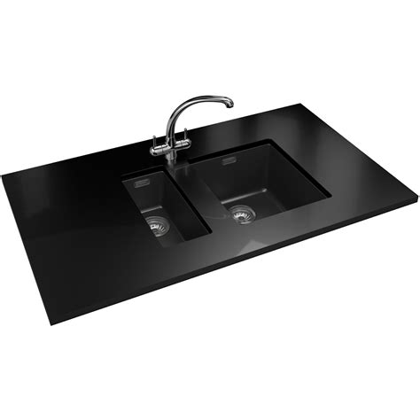carbon sink franke sirius sid 110 16 tectonite carbon black 1 0 bowl