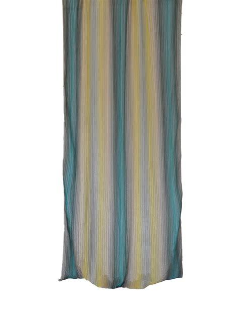tenda plissettata tenda plissettata con sfumature giallo verde cm 290x150