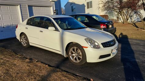 lexus infiniti g35 il fs 2005 infiniti g35 white sedan club lexus forums