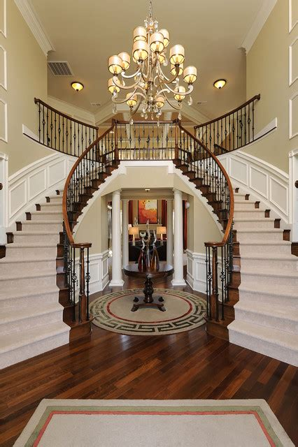 Staircase Foyer Tietjen Foyer Traditional Staircase Dc Metro By