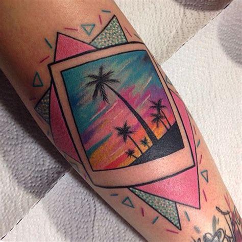 polaroid tattoo designs rutherford 80s miami polaroid