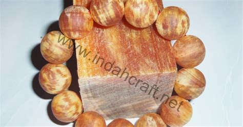 Gelang Getah Kayu Phynus 18mm gelang kayu pinus getah 18mm indahcraft