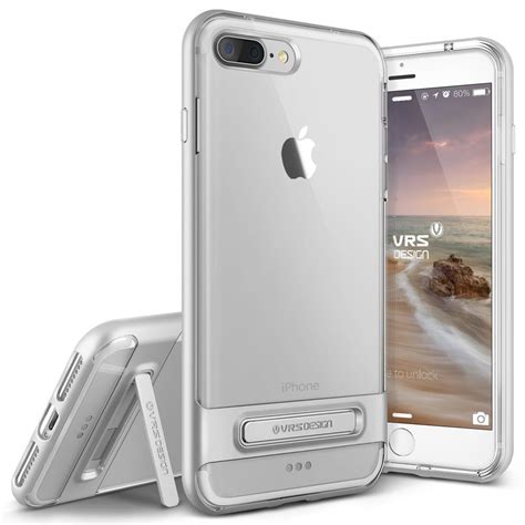 Verus Bumper For Iphone 7 Light Silver Perak verus bumper skal till apple iphone 7 plus silver themobilestore