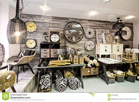 home decoration shops home decorations shop interior stock photo image 91167550