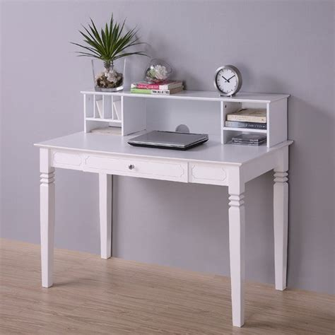 Writing Desk Accessories Writing Desk With Hutch Modern Home Office