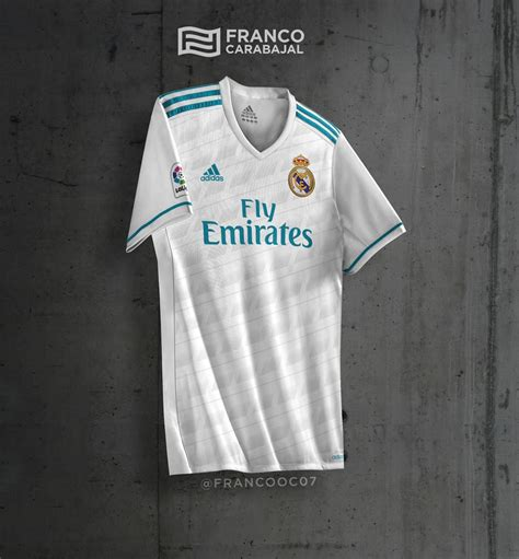Jersey Real Madrid New 20172018 real madrid 17 18 kit leaked footy headlines