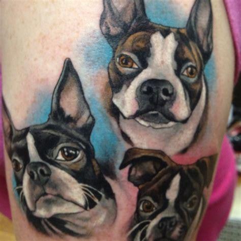 boston terrier tattoo boston terrier boston terriers
