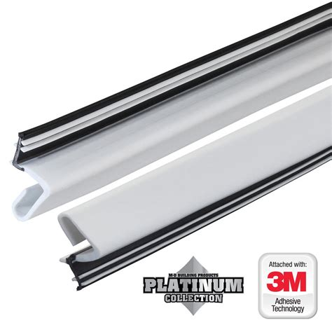 door weatherstripping 84 in platinum white collection door weatherstrip