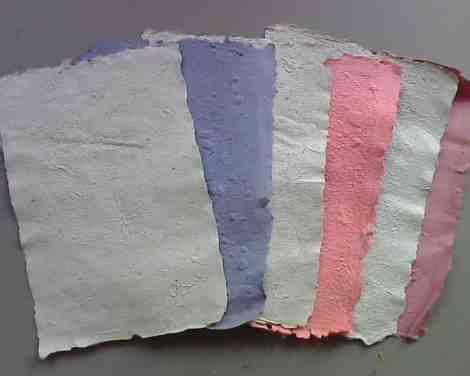 membuat kolase bahan daur ulang cara membuat kertas daur ulang alamendah s blog