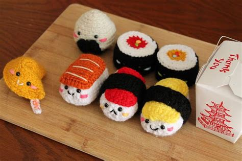 amigurumi sushi pattern amigurumi food free pattern a a pinterest crotchet