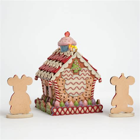light up gingerbread house disney traditions home sweet home light up gingerbread