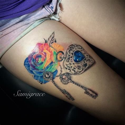 rose and locket tattoo 20 best ideas about locket tattoos on