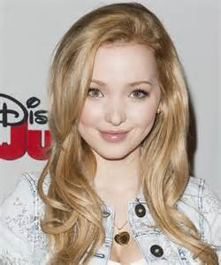 dove cameron long straight formal hairstyle light blonde