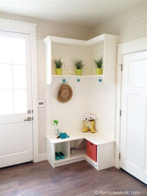 small mudroom bench utah valley parade of homes in the corner no worries