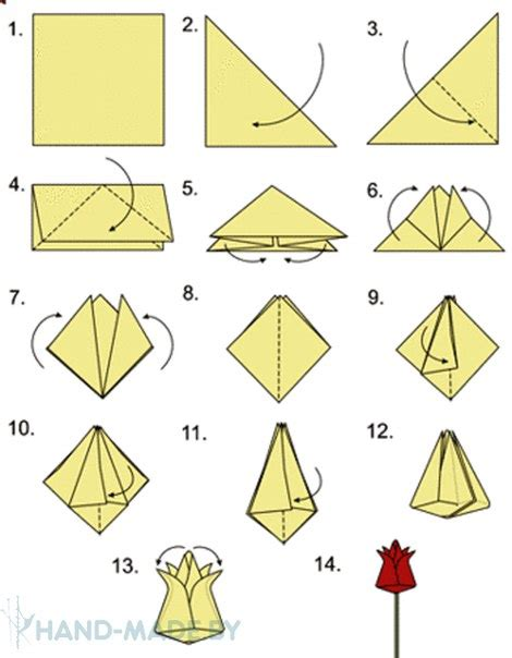 how to make an origami tulip tulip 225 n de origami paso a paso