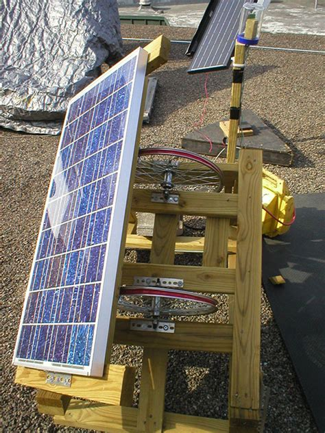 how to make a simple solar panel at home diy solar inexpensive sun tracker maximizes solar panel efficiency