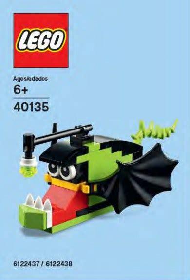 Dijamin Lego Polybag 40135 Angler Fish promotional 2015 brickset lego set guide and database