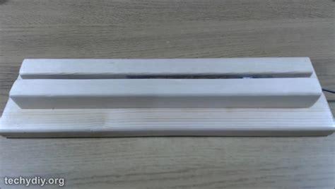 led acrylic edge lighting how to an xmen led edge lit sign mirror techydiy