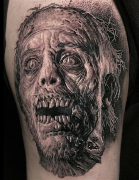www tattoos com horror tattoos what does fear look like