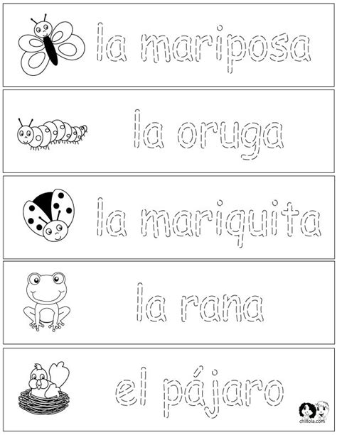 spring coloring pages in spanish spring printouts spanish spanish for kids http www